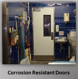 Corrosion Resistant Doors