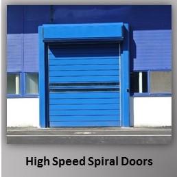 High Speed Spiral Door
