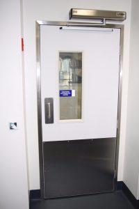 Thermal Swing Doors