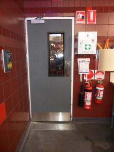 Corrosion Resistant Door