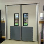 Thermal Traffic High Impact Swingdoors - 4500 Series - Woolworths Door